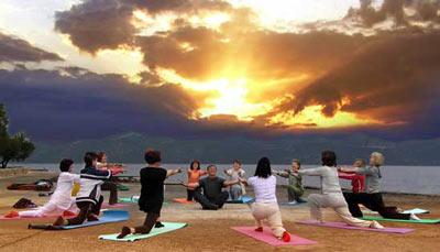 Jutarnja meditacija, vježbe i čaroban izlazak sunca